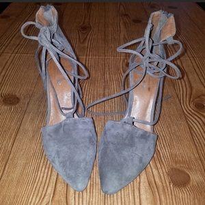 Jeffrey Campbell wrap heels size 6